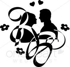 Couples Clipart, Art, Wedding Couple Clipart, Wedding Couple ...