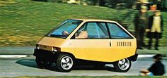 Ford Manx Urban Car (Ghia), 1975
