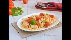 Pasta con persico e gamberetti - Ricette che Passione