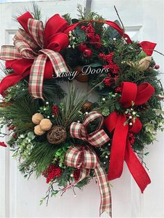 Christmas Wreath Woodland Christmas Wreath Rustic Wreath Traditional Christmas Wreath Christmas Front Door Wreath by SassyDoorsWreaths on EtsyShould you look hard enough you may find almost any type of wreath. Wreaths may also transform any portion of the Woodland Christmas, Gold Christmas, Rustic Christmas, Beautiful Christmas, Christmas Crafts, Traditional Christmas Decor, Christmas Candles, Primitive Christmas, Christmas Reath