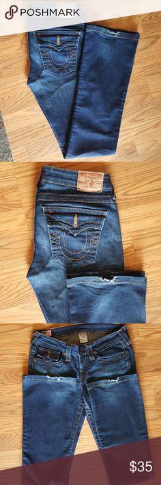 "True Religion True Religion jeans, size 27, Front Rise 8"", Inseam 31. True Religion Jeans Boot Cut"
