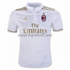 Billiga Fotbollströjor AC Milan 2016-17 Kortärmad Borta Matchtröja