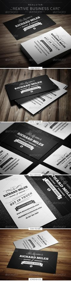 Retro Business Cardhttp://graphicriver.net/item/retro-business-card/5293579?WT.ac=portfolio_1=portfolio_author=Realstar