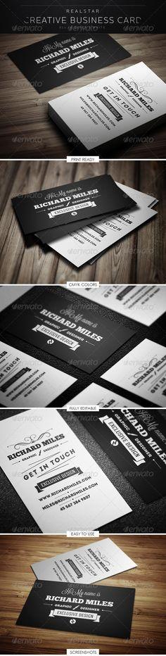 Retro Business Cardhttp://graphicriver.net/item/retro-business-card/5293579?WT.ac=portfolio_1=portfolio_author=Realstar