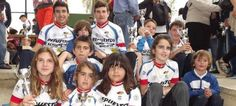 Ciclistas sexitanos galardonados en Huelva