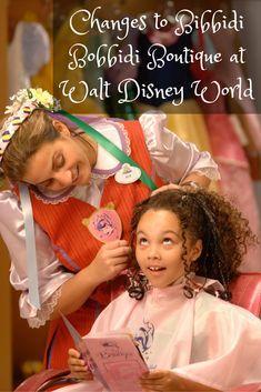 Changes to Bibbidi Bobbidi Boutique at Walt Disney World