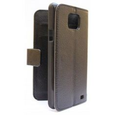 Samsung Galaxy S2 musta puhelinlompakko