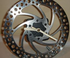 Here is what you can do with all those old/spare bike brake discs you have lying around!You will need:- bicycle brake disc- cheap quartz wall clock- s...
