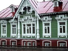 Старая Пермь. Россия Old Perm. Ural. Russia