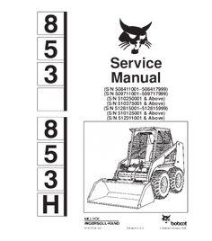 Hyundai HSL850-7 Skid Steer Loader Service Repair Manual