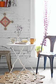 Plum  Bow Circle Bistro Table