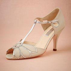 Vintage Ivory Wedding Shoes Wedding Pumps Mimosa T-Straps Buckle Closure Leather Party Dance 3 High Heels Women Sandals Short Wedding Boots, $85.55 | DHgate.com