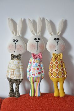 Rabbit Toy Pattern. Soft toy pattern and tutorial. от NilaDolss
