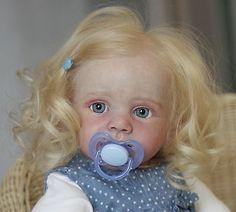Reborn Baby Girl Doll Fridolin by Karola Wegerich, Sold Out L/E 500