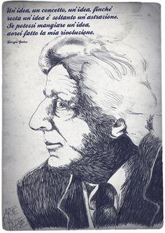 Giorgio Gaber - Italian musician and poet.