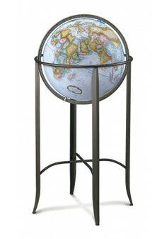 26807 Trafalgar (Blue) Floor Globe