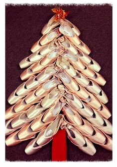 Pointe shoe Christmas tree! This is my kind of christmas!!