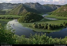 River Crnojevic flows from cave Obod with it's short (13 km long) course it passes through beautiful regions of old Montenegro.