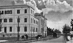 El Instituto Padre Suarez, inaugurado por el rey Alfonso XIII en 1917