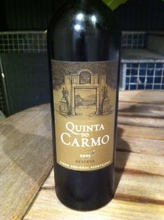 Quinta do Carmo Reserva 2005 Portugal, Wine, Drinks, Bottle, Photos, Wine Pairings, Beer, Beverages, Flask