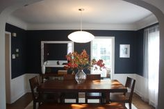 navy dining room white gold img9853 dark blue dining room room walls colors area navy decor ideas house home pinterest