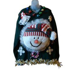 ugly snowman sweater - Google Search