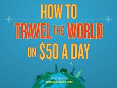 The travel industry lies to you. They tell you travel is expensive and can't be done often. They are wrong. Once I started traveling, I realized that everythin…