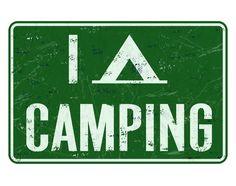 I love Camping #camping