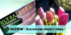 Ultraflesh Perfect Pinks 6 Piece Lipstick Set !
