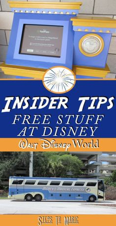 Here's a list of all the things that you can get for free at Walt Disney World! Free Wi-Fi Location: Parks, Resorts, Water Parks and Disney Springs This is a no-brainer for those who have been to the parks before, but as a first-timer…this is a game changer! You get free Wi-Fi on Disney Property, …