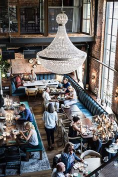The Steam Hotel, Sveriges lyx- och designhotell (By diadonna) Chaise Restaurant, Restaurant Hotel, Architecture Restaurant, Restaurant Design, Industrial Cafe, Urban Industrial, Commercial Design, Commercial Interiors, Bar Deco