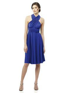 Twist Wrap Dress: Short http://www.dessy.com/dresses/twist-short/#.UifiMNKsim4