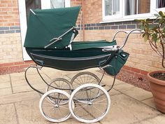 Silver Cross prams And, in those days, these prams (with the babies in situ) would be parked up outside shops, clinics, launderettes, houses etc..... unimaginable these days!