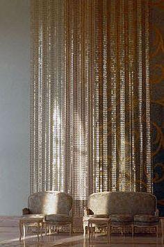 Metal curtain. IPANEMA LE LABO DESIGN