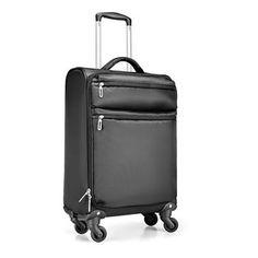 Trolley rip stop poliester. 1 compartimento y 1 bolsillo frontal. Bolsillo tamaño portatil.