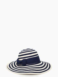 stripe sun hat - kate spade new york Sun Hats For Women, Pose For The Camera, Summer Hats, Derby Hats, Panama Hat, Riding Boots, Cool Things To Buy, Kate Spade, My Style