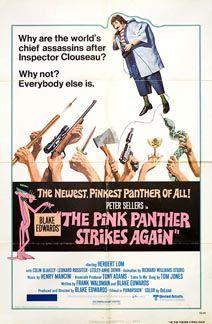 Posteritati: PINK PANTHER STRIKES AGAIN, THE 1976 U.S. 1 sheet (27x41)