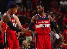 Washington #Wizards Backcourt: John Wall & Bradley Beal #NBAPlayoffs