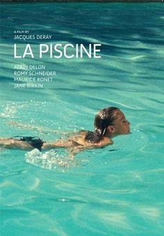 """""""La Piscine"""" starring Romy Schneider & Alain Delon #film #frenchfilm"""