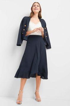Asymetrická midi sukně Pants, Shopping, Design, Fashion, Trouser Pants, Moda, Fashion Styles, Women's Pants