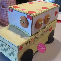 38 Beautiful and Unique Valentine Box Ideas - ViraLinspirationS Cool Valentine Boxes, Unique Valentine Box Ideas, Kinder Valentines, Valentines For Boys, Valentine Stuff, Valentine's Day 2018, Decorated Shoes, Box Design, Design Ideas