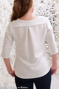 Couture Sewing, Couture Tops, Blouses For Women, Free Pattern, Bell Sleeve Top, Chic, Irene, Clothes, Dresses