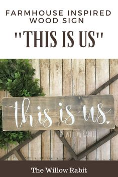 This is us. This is our life. This is what makes our life beautiful. This is what makes us, us. And this is the best pieces of us. This sign is inspired by the new hit show and serves to represent everything that makes us, us.  #thisisus #etsy #etsyproducts #woodensigns #distressedwood #homedecor #livingroomdecor #farmhousestyle #rusticdecor #rustic #afflink #kitchendecor #livingroom #bedroom #walldecor #family
