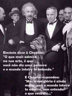 Einstein e Chaplin. Cogito Ergo Sum, Funny Memes, Jokes, Albert Einstein Quotes, Magic Words, Beauty Quotes, Me Me Me Song, People Quotes, Malcolm X
