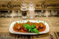 Το πιάτο μας για σήμερα.. κεφτεδάκια με σάλτσα :)  #ουζομεζεδοπωλείον #τοελληνικό #Γλυφάδα