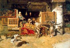 El vendedor de Tapices, 1870.