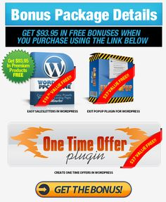 Check out this OptinLinks Bonus. It includes 3 premium paid products when you purchase OptinLinks Bonus with our unique link. OptinLinks is changing the way marketers build squeeze pages by using a 2-step optin system.