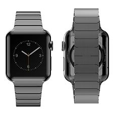 Biaoge Ultra Slim 42mm Stainless Steel Link Watchband Match with Plated Apple Watch Case for Apple Watch (Link Dark Grey 42mm) Hoco http://www.amazon.com/dp/B013JGJS9K/ref=cm_sw_r_pi_dp_kdRYvb01D2GHV