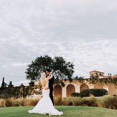 Real bride wearing Ines Di Santo wedding dress from Solutions Bridal in Orlando, Florida Photography by The Hons