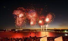 2016 Australia Day Fireworks Spectacular | Regatta Point, Canberra, 26 January 2016